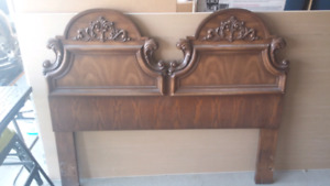 Headboard for Queen or Double bed and mirror