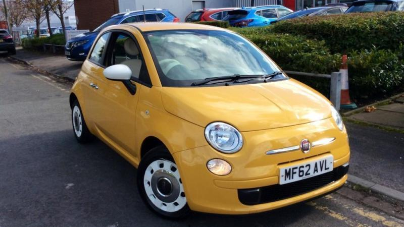 2012 Fiat 500 1.2 Colour Therapy 3dr Manual Petrol Hatchback