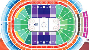 Canucks @ Oilers Saturday March 18th, Lower Bowl