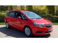 2017 Vauxhall Zafira 1.4T Design 5dr Manual Petrol Estate