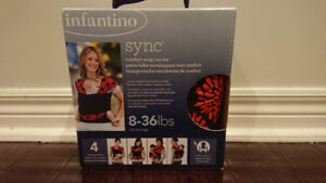 Infantino Sync - Baby Comfort Wrap Carrier Like New