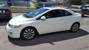 2010 Honda CIVIC EX-L Coupe (2 door) LEATHER ROOF