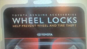 Genuine Toyota Accessories 00276-00900 Wheel Lock