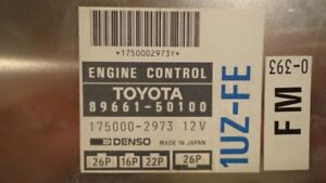 ECM from a JDM 1992 - 1994 /Lexus ls400 chassis UCF11.