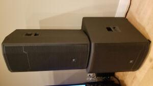 JBL prx series powered loudspeaker stereo system