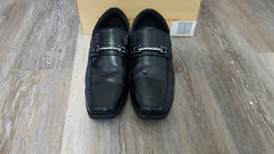 Boy's OR Men's Black Dress Shoes 8.5 8 1/2