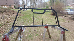 Custom back rack, made from stainless, made for a 08-16 f250