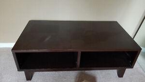 Lane Dark Wood Coffee Table