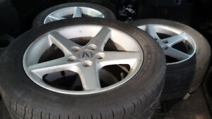 Rims with Tires 205 55 16