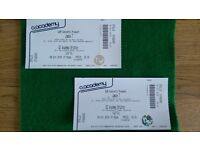 Jamie T tickets X 2 Brixton O2 £40 each