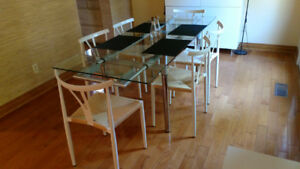 Dining Table and 8 Dining Chairs