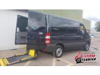 2013 Mercedes Sprinter 210 SWB AUTOMATIC Disabled Drive From Wheelchair Vehicle