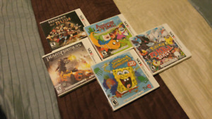 5 nintendo 3ds used games