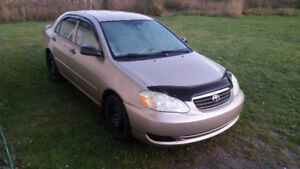 2006 Toyota Corolla, Automatic, New Inspection, Low Km's