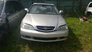 1999 acura tl parts only