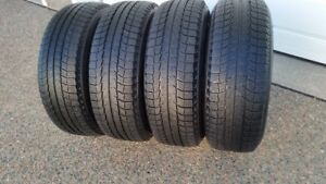 4 MICHELIN LATITUDE X ICE 235/70R/16 IN GOOD CONDITION