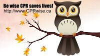 Heart & Stroke CPR/AED BLS Course Sat April 1st @10am