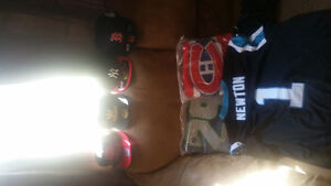 Sports Jerseys and hats located in camrose