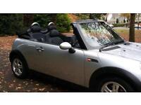 2006 Mini 1.6 Cooper convertible silver private plate clean example £2795 206cc 207cc slk z3 a3 size