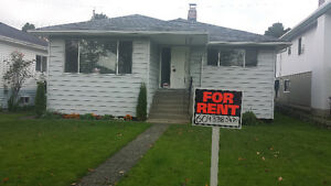 4 Bedroom Spacious house $2500 – Cambie St./Marine Dr. area