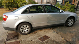 WELL KEPT AUDI A4 FOR SALE