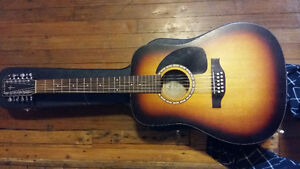 12 String Acoustic w/hardcase - Simon & Patrick - Songsmith