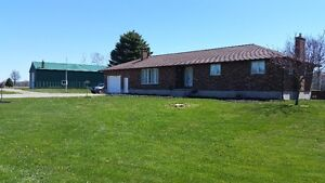 Country location, Huge workshop, 1.6 Acres lot, Brick Ranch