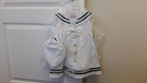 Brand New Girl Sailor Costume - Size: Small