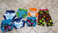 Fleece covers for Cloth diapers