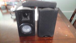 Klipsch synergy b-20 speakers