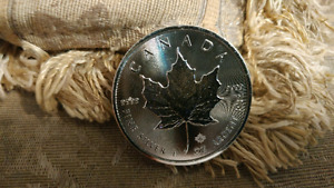 Canadian 5 dollar maple coin 1oz silver