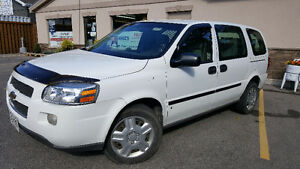 2009 Chevrolet Uplander Cargo Van - with SHELVING and SNOWS!