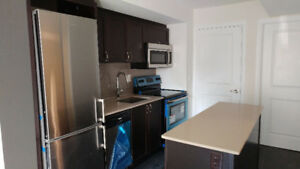 Brand new 1 + den condo townhome in Downsview Park