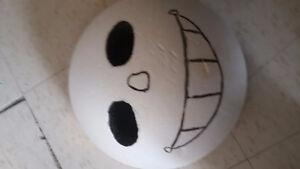Round Skeleton Boy mask