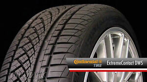 CONTINENTAL EXTREME WINTER CONTACT TIRES w RIMS