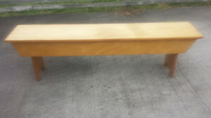 Solid Wood - Pine - Bench for Sale - CAN DELIVER!!