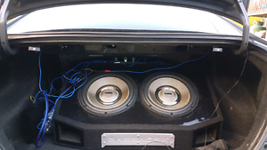 Subs and amp