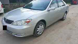 2003 toyota camry 4cylinder