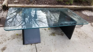 Coffee and kitchen tables - at the curb