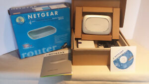 Netgear RP614 4-Port Router Gateway Cable DSL 10/100Mbps