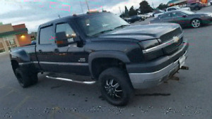 2003 duramax dually with plow