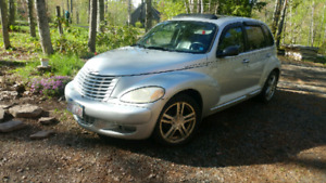 2003 5speed Turbo PT cruiser.