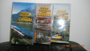 3 VHS VIDEOS: CHRONICLING A JOURNEY ACROSS CANADA West Island Greater Montréal image 1