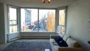 Beautiful private bedroom and bathroom in Yaletown