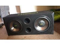 FUSION SUBS AND AMP £100 OR MAKE AN OFFER