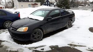 Honda civic ( reparation ou course )