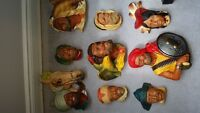 Bossons Heads Collection 9 pcs