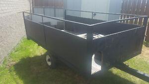 remorque trailer 4x8 dompeur artisanal