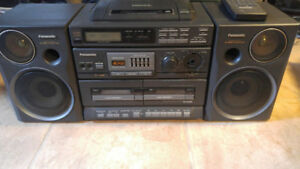 Panasonic CD Boom box radio