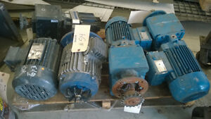 ELECTRIC MOTORS FOR SALE 0.33HP UP TO 40HP Kitchener / Waterloo Kitchener Area image 2